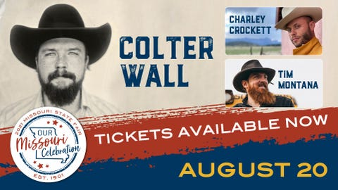 COLTER WALL WITH CHARLEY CROCKETT AND TIM MONTANA