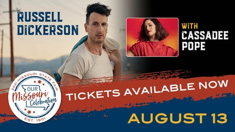 RUSSELL DICKERSON WITH CASSADEE POPE