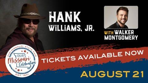 HANK WILLIAMS, JR. WITH WALKER MONTGOMERY