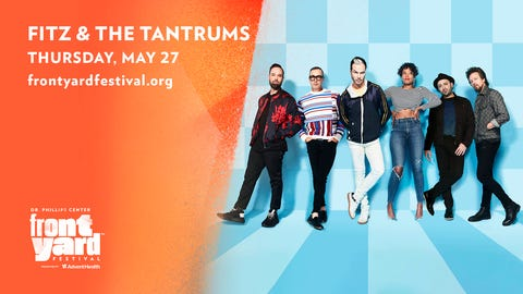 Fitz & The Tantrums at the Frontyard Festival