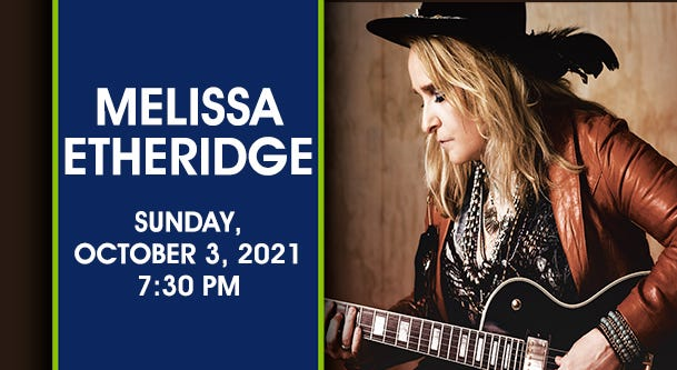 Melissa Etheridge Genesee Theatre
