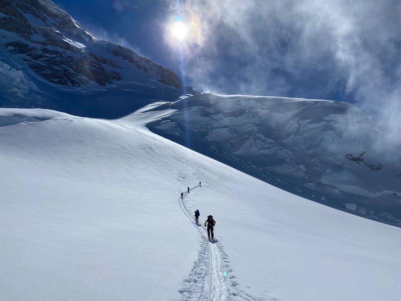 Highest risk, biggest reward: Airmen and vets climb Denali
