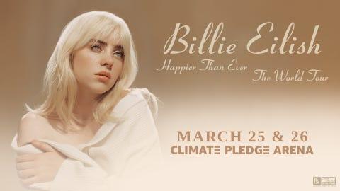 Billie Eilish - Happier Than Ever, The World Tour