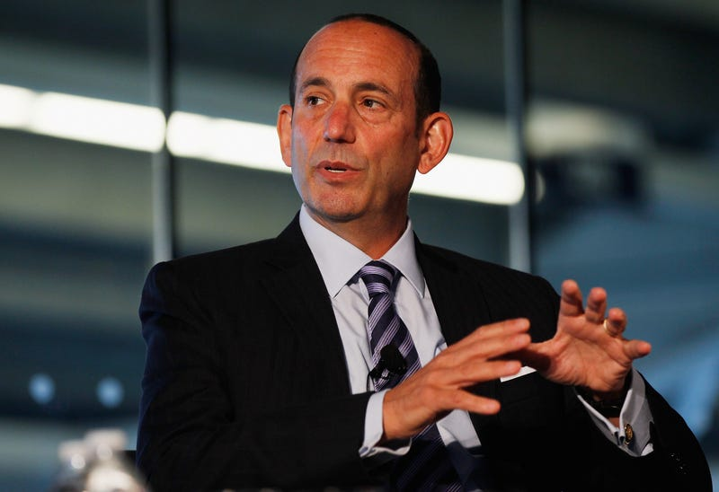 Comisionado de la MLS Don Garber