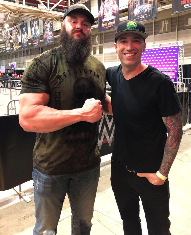 WWE Superstar Braun Strowman chats with Migs!