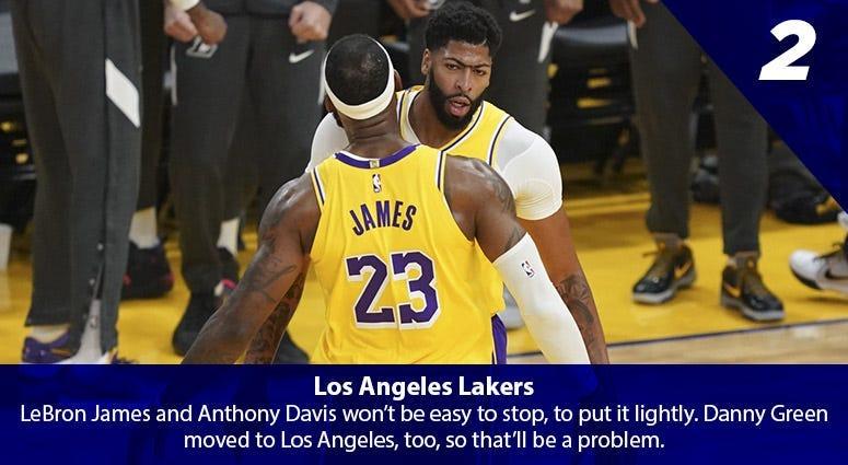 LeBron James, Anthony Davis