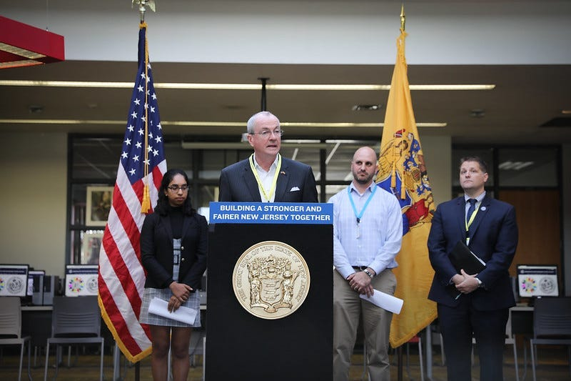 Governor Phil Murphy announces a five-point Computer Science for ALL State Plan and FY20 Funding Opportunities at Bridgewater-Raritan High School