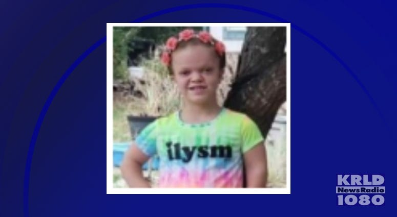 ACTIVE AMBER ALERT for Willow Sirmans from Grand Saline, TX,