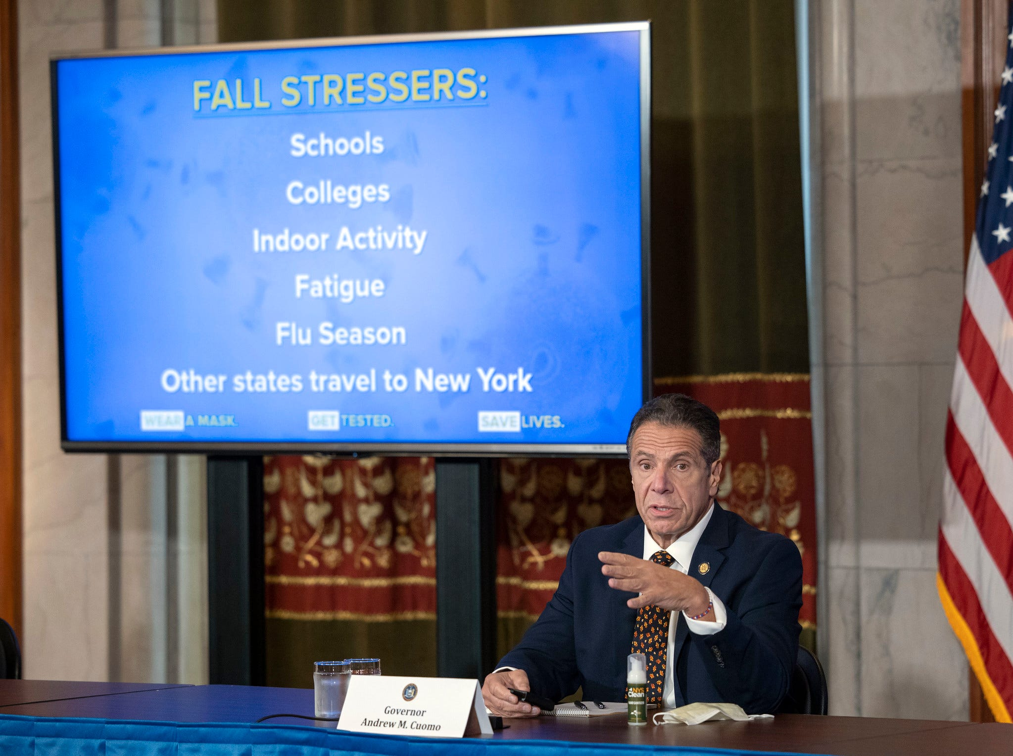 NY state reports 2,061 new COVID cases, 1,045 hospitalizations