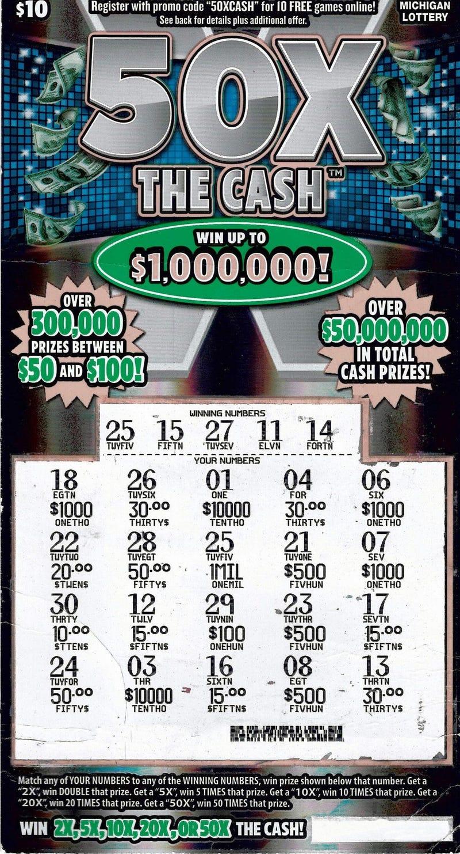 Muskegon lottery winner