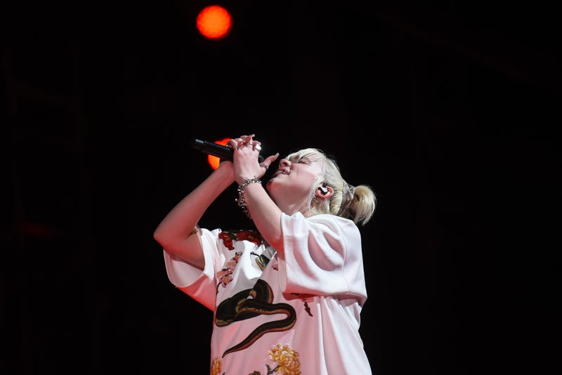 Billie Eilish performs at Global Citizen Live in Central Park on Saturday, Sept. 25, 2021.