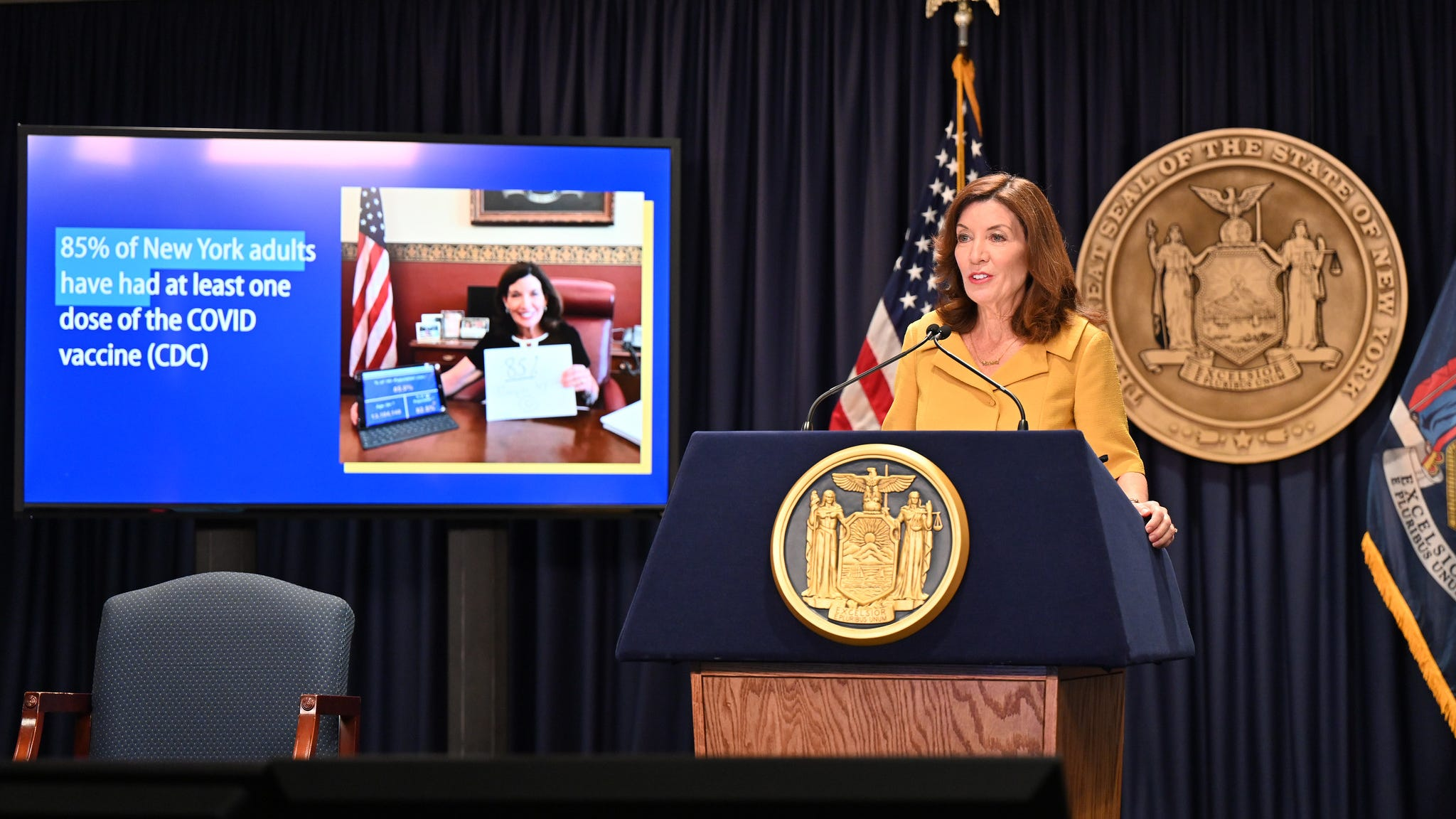 NY's healthcare workforce dropped 3% after vaccine mandates: Hochul