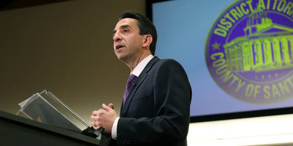 Santa Clara County District Attorney Jeff Rosen released a report about racial and ethnic disparities in criminal prosecutions by his office.