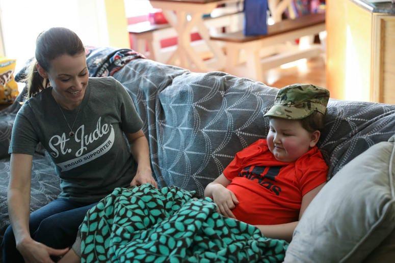 Army soldiers help Make-A-Wish kid Braxton Fuqua dream come true.