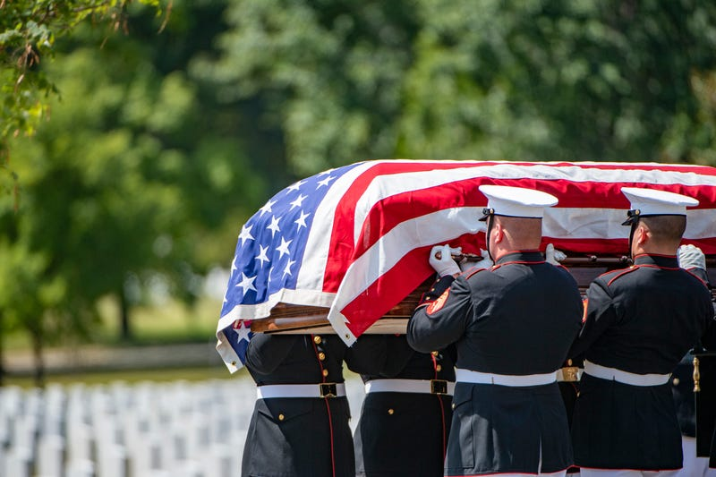Burial of remains of service member killed in North Korea