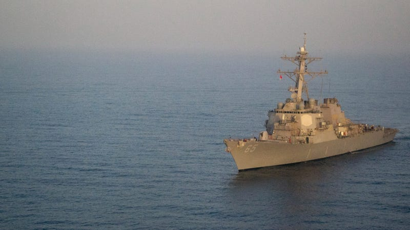 China says it chased U.S. warship out of disputed sea