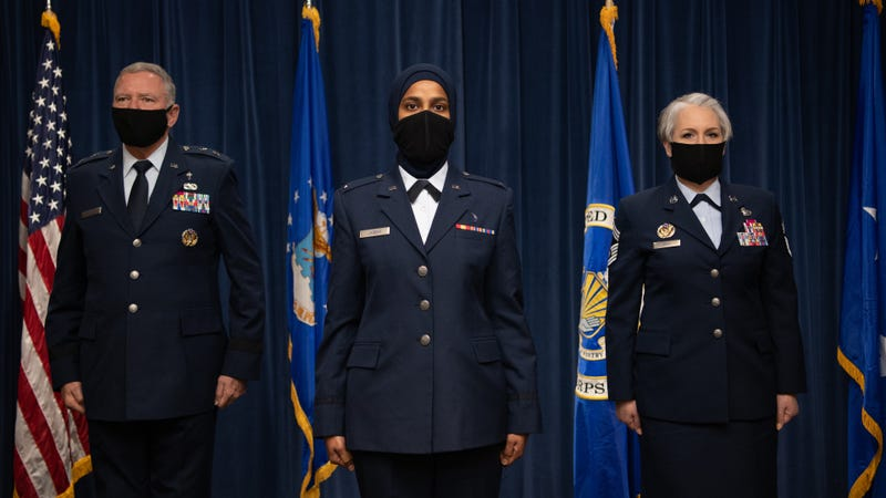 First female Muslim chaplain graduates from Air Force Chaplain Corps College
