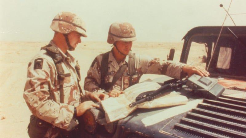 Desert Storm Army vet recalls first 'Space War'