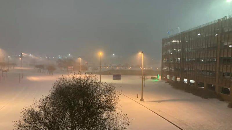 Texas Army hospital powers through winter storms