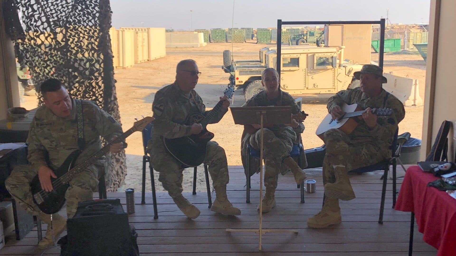 Soldiers use coffee, live music to increase sexual assault prevention education