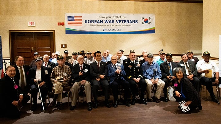 Korean War Vets: 'We should not forget; we will not forget; you are not forgotten'