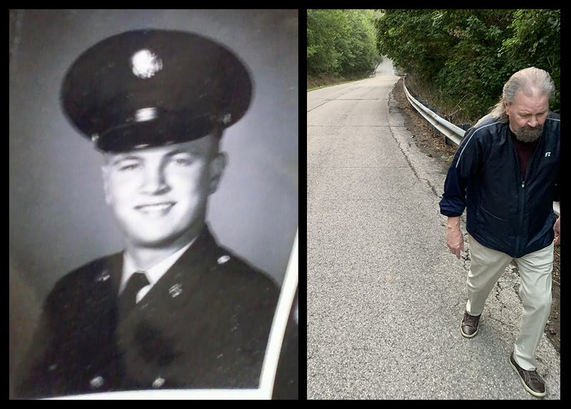 56 years after basic training, former Fort Knox soldier again hikes Misery Hill