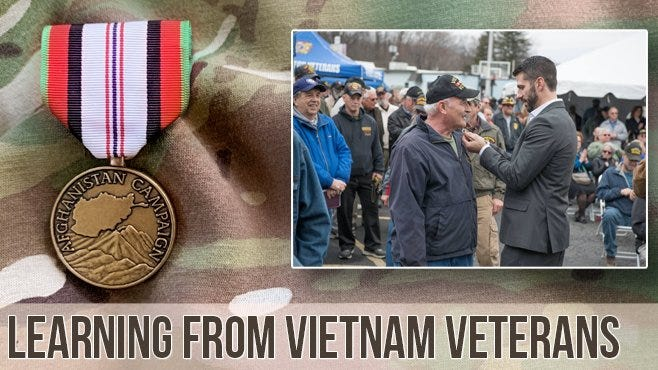 How veterans of Afghanistan can learn from Vietnam veterans