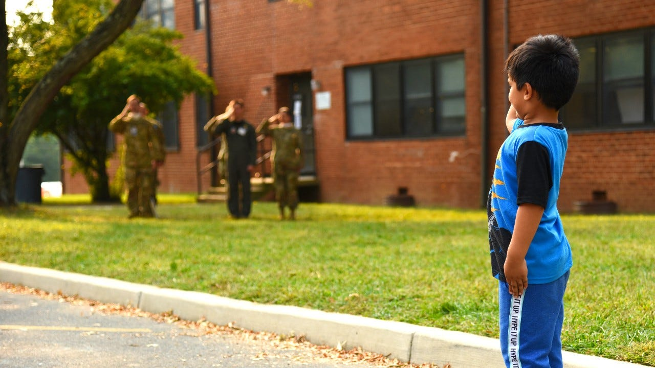 GALLERY: Afghan children play on New Jersey military base