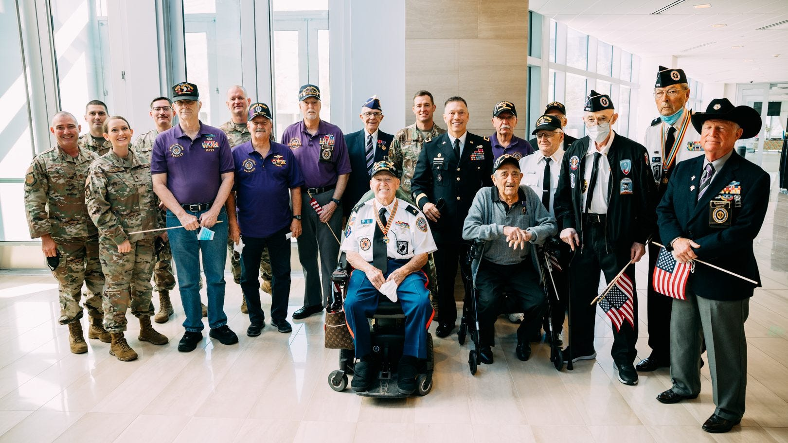 Wounded on D-Day, veteran receives long-awaited Purple Heart