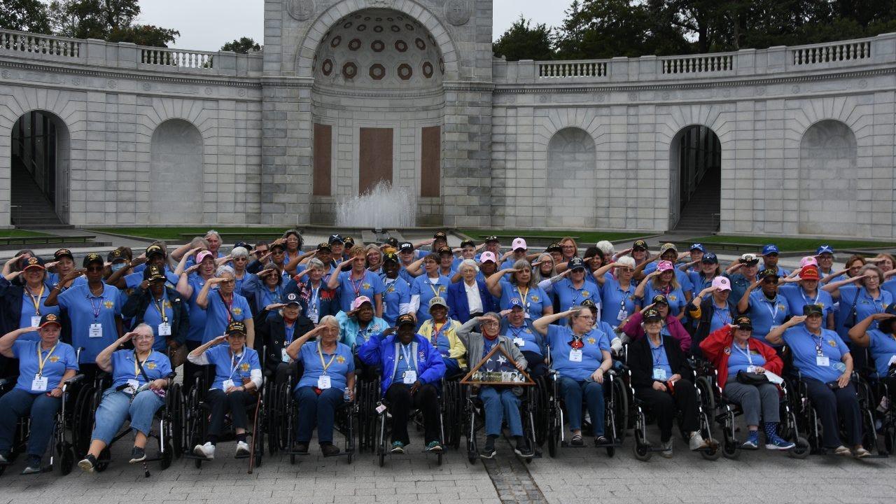 93 women veterans recognized with unique Honor Flight