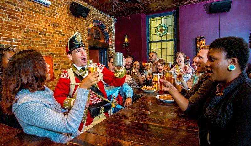 """Historic Philadelphia is having a """"Tippler's Tour"""" for Ben Franklin's birthday."""