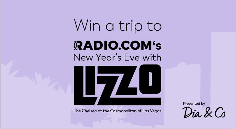 Win a trip to see Lizzo in Las Vegas on New Year's Eve