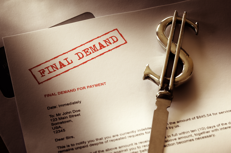 FINAL DEMAND FOR PAYMENT LETTER