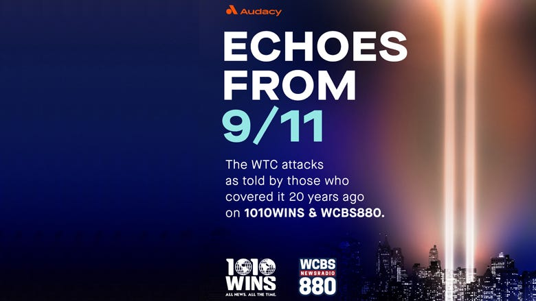 Echoes from 9/11: The WTC attacks as told by 1010 WINS and WCBS 880