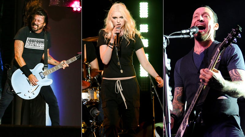 Dave Grohl, Taylor Momsen, Volbeat