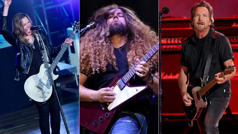 Lzzy Hale, Coheed and Cambria, Eddie Vedder