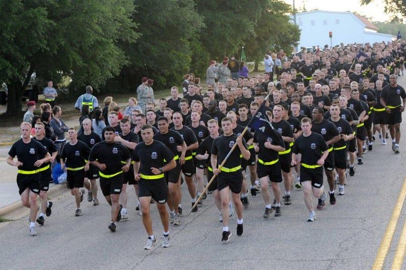 82nd Airborne Division run