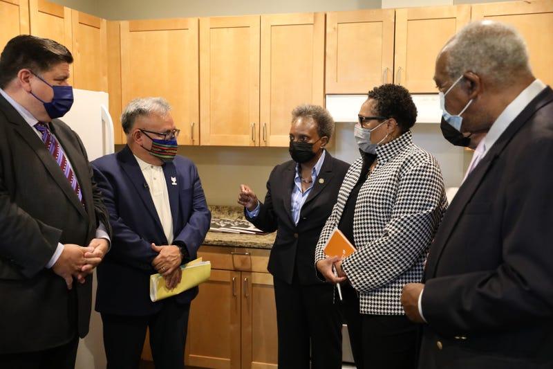 HUD Secretary Marcia Fudge pushes Biden's domestic agenda during Chicago visit