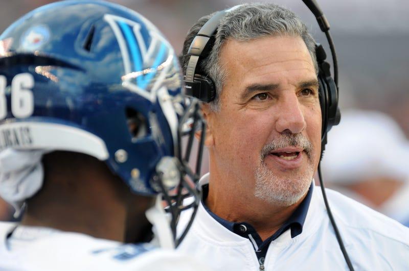 The 2019 season will be Mark Ferrante's third as Villanova's head football coach.