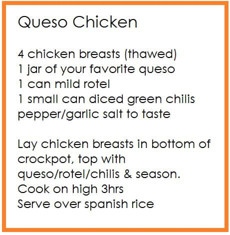 easy meals during quarantine