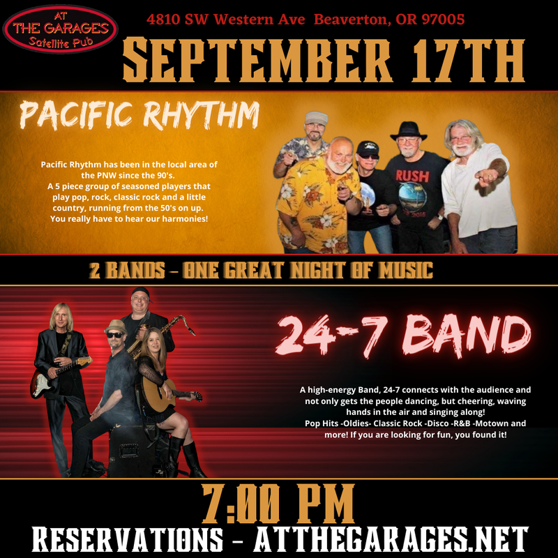 Pacific Rhythm and 24-7 band