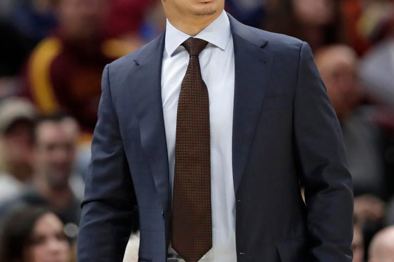 Photo credit Cleveland Cavaliers head coach Tyronn Lue yells instructions  to players in the first half of an NBA basketball game against the Indiana  Pacers 6e46ea588
