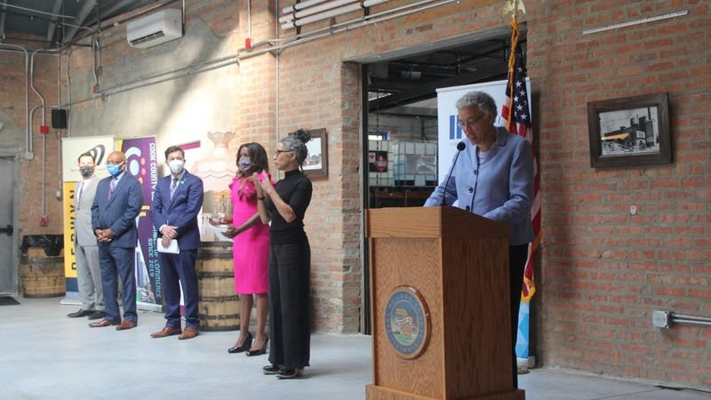 Cook County has unveiled a new effort to help small businesses hit hard by the COVID-19 shutdowns and other pandemic issues.