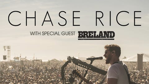 Chase Rice at the Pacific Amphitheatre
