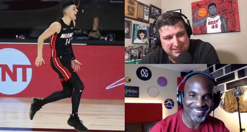Tyler Herro Reacts To Big Shot