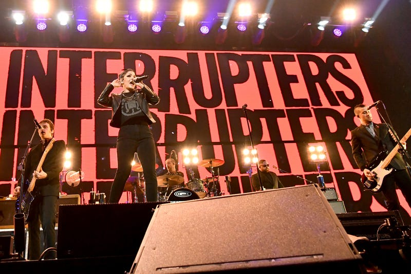 The Interrupters at KROQ's 'Almost Acoustic Christmas'