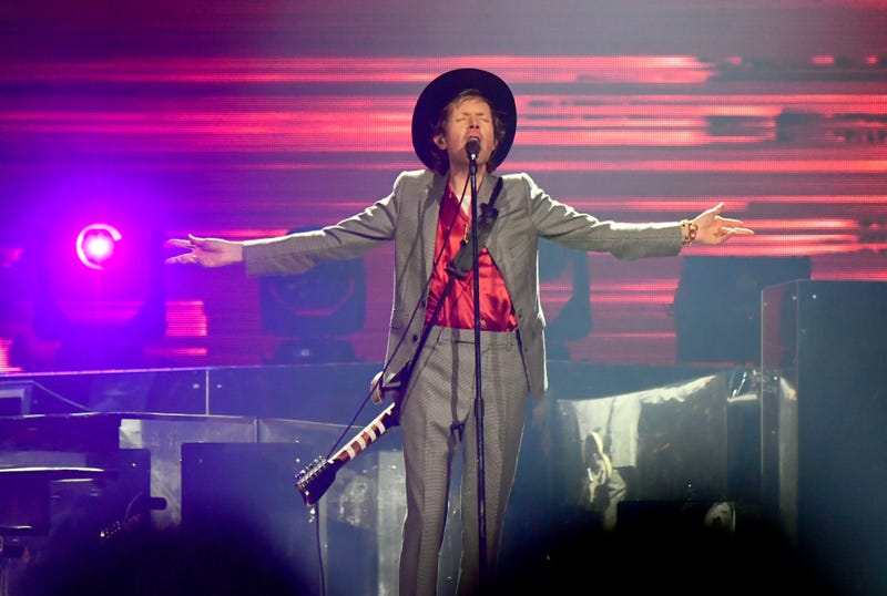 Beck at KROQ's 'Almost Acoustic Christmas'