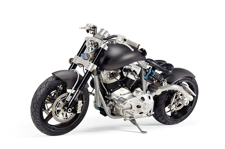 Tim McGraw's Hellcat Motorcycle