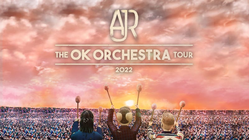 AJR's 'OK Orchestra' Tour is coming to the Mann Music Center on May 15th, 2022