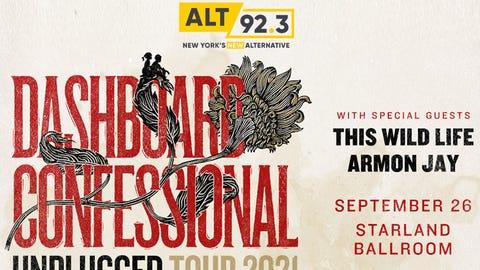 ALT 92.3 Presents DASHBOARD CONFESSIONAL